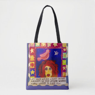 Tote bag- Let your light shine bright so the other