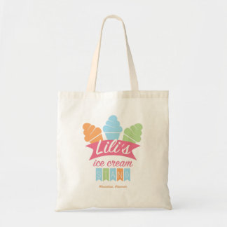 Tote Bag - Lili's Ice Cream Stand