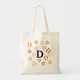 Tote Bag - Tumbled Letters