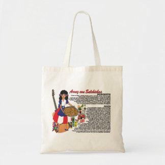 Tote Bag w/Recipe-Arroz con Salchichas Puerto Rico