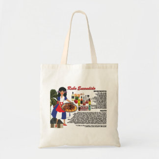 Tote Bag w/Recipe-Rabo Encendido- Cuban