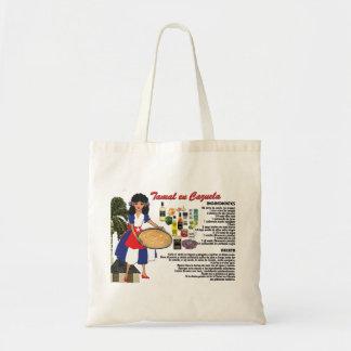 Tote Bag w/Recipe-Tamal en Cazuela- Cuban