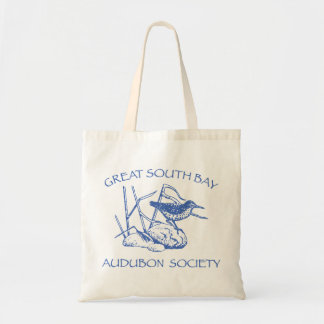 Tote Bag with Blue Logo