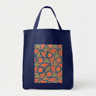 Tote Bag with Ethnic Design