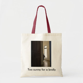 Tote bag with fun caption and design