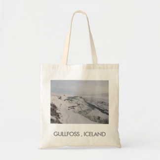 Tote Bag With Gullfoss Waterfall (Iceland) Picture