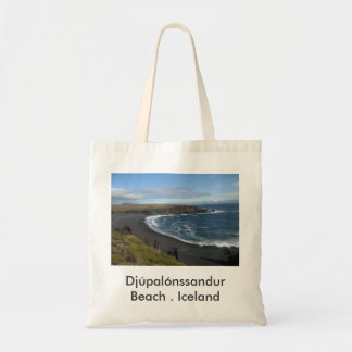 Tote Bag With Icelandic Beach Picture