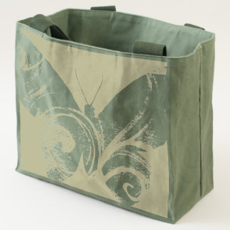 Tote Bag With Image of Butterfly