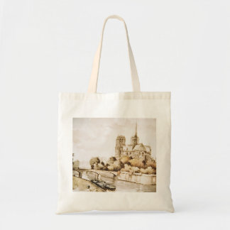 Tote bag with 'Notre Dame Cathedral' image