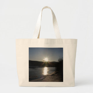 tote bag with photo of Yukon River