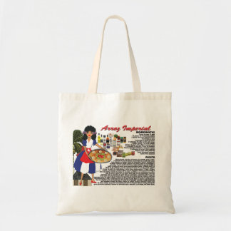 Tote Bag with Recipe-Arroz Imperial- Cuban