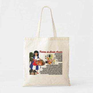 Tote Bag with Recipe-Paleta de Cerdo Asada