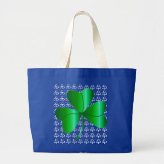 Tote Bag with Shamrock