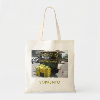 Tote Bag With Sorrento Lemon Stall Picture