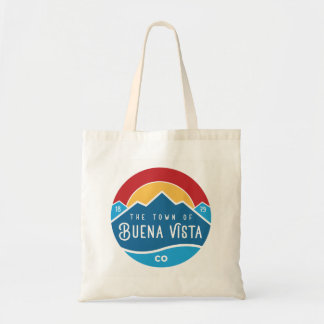 Tote bag with town logo