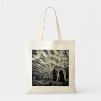 Tote Bag with wacky image of Lintzgarth Arch!