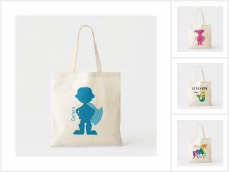 Perosnalized Tote Bags