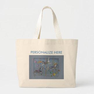 Tote Bags - Carousel Opus One