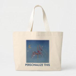 Tote Bags - Carousel Rabbit
