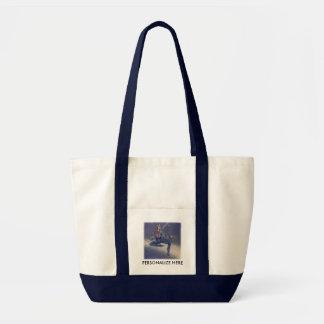 Tote Bags - Cosmic Mime SQ