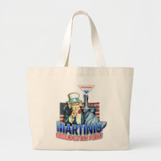 Tote Bags - Martinis Should Be Tax Free