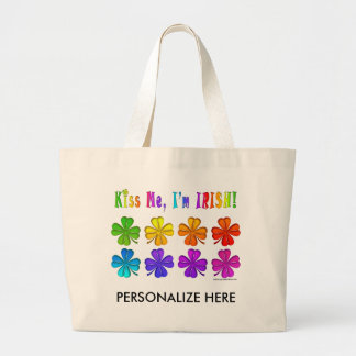 Tote Bags - Pop Art SHAMROCKS