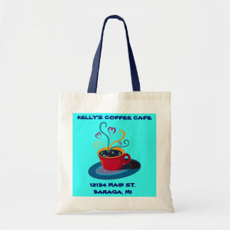 TOTE BAGS TO PROMOTE YOUR COFFEE SHOP CAFE STORE