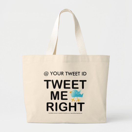 Tote Bags - Tweet Me Right