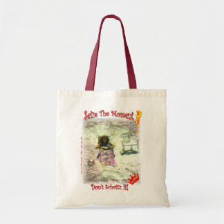 Tote, but don't schvitz while you do! budget tote bag
