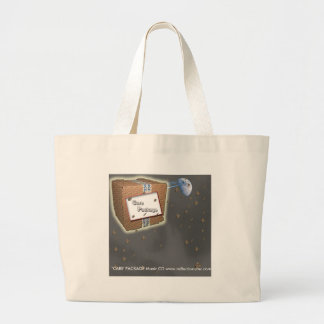 "Tote ""CARE' PACKAGE Jumbo Tote Bag"
