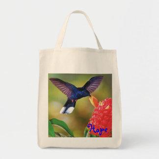 """Tote """"colibrí azul del ultramarinos de la esperanz bolsas"""
