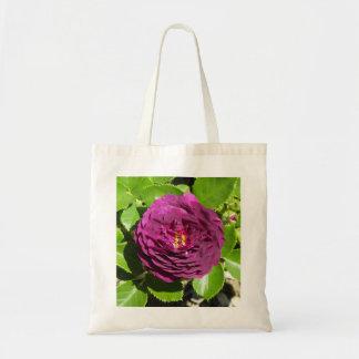 Tote color de rosa púrpura bolsa tela barata