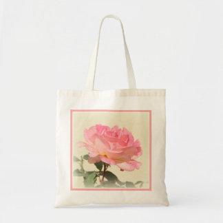 Tote color de rosa rosado bolsa tela barata