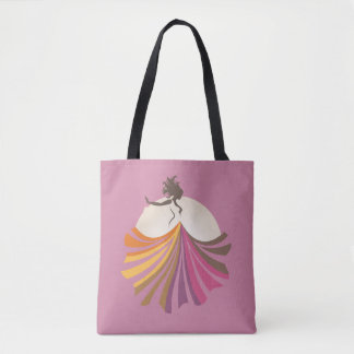 Tote colors skirt