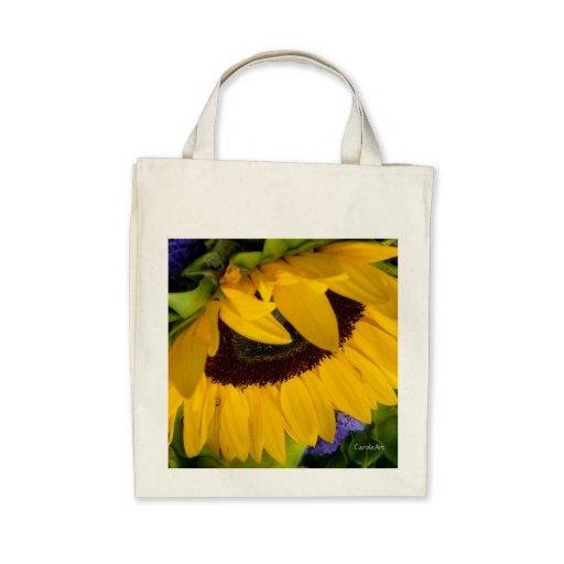 Tote comedido Sunflower.2 Bolsas Lienzo
