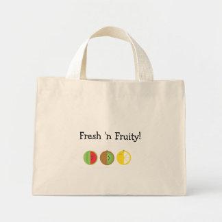 'Tote con sabor a fruta fresco de n mini Bolsa Tela Pequeña
