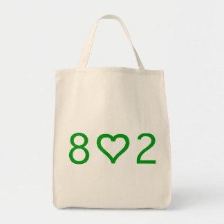 Tote de 802 ultramarinos bolsa tela para la compra