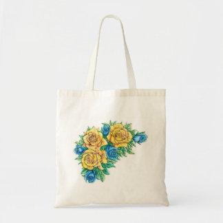 Tote de la flor bolsa de mano