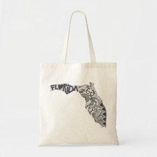 Tote de la Florida (tote perfecto de la playa de Bolsa Tela Barata