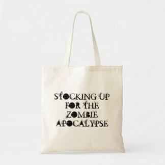 Tote de la fuente de la apocalipsis del zombi bolsa tela barata