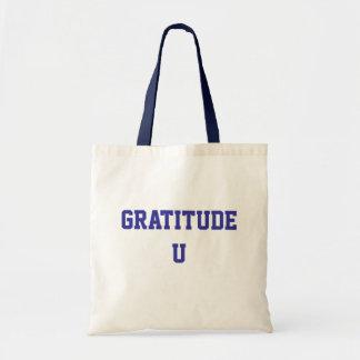 Tote de la gratitud U Bolsa De Mano