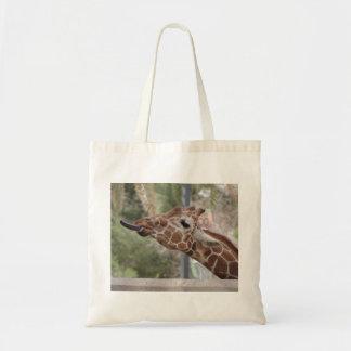 Tote de la jirafa bolsas de mano