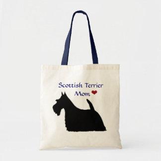 Tote de la mamá de Terrier del escocés Bolsas De Mano