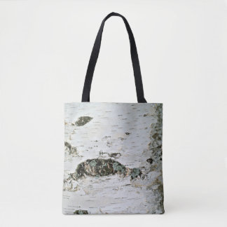 Tote de la naturaleza del tronco de árbol de bolsa de tela