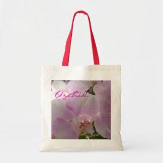 """""""Tote de la orquídea rosada de la lavanda"""" Bolsas De Mano"""