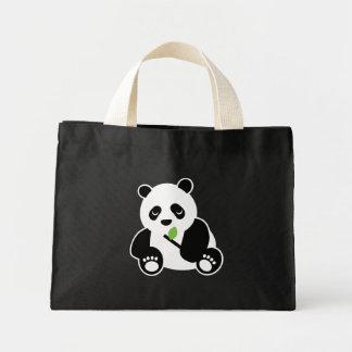 Tote de la panda bolsas