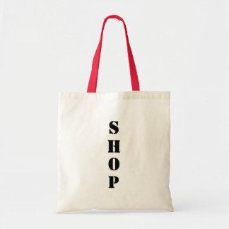 Tote de las compras bolsa tela barata