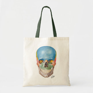 Tote de las compras del cráneo del Netter Bolsa Tela Barata