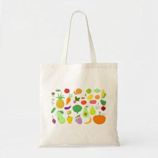Tote de las frutas y verduras bolsa tela barata