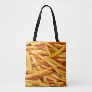 Tote de las patatas fritas bolsa de tela